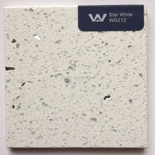 Sparkling White quartz stone surface