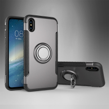 2017 new launch shockproof 360 degree rotatable car magnetic holder mobile phone case for phoneX