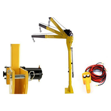 mini electric hoist 12V24 vehicle winch 500 kg