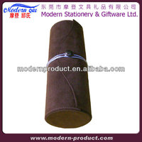 High quality suede leather wine box