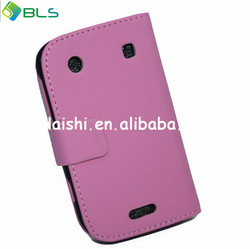black flip cover cheap case for blackberry 9900