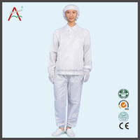 Various Size and Style Men and Women ESD Work Clothes Uniform