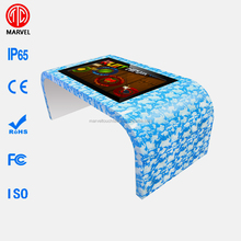 Waterproof android 42 inch interactive IR multi touch screen game table