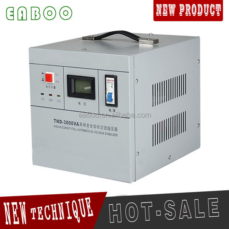 3kva AC automatic voltage regulator AVR