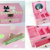 Color Gift Jewelry Box Drawer