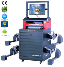 9600-B tyre shop efficient CCD wheel alignment and balancing machine
