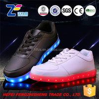 HFR-JS14 wholesale professional usb flashing light shoes for adult