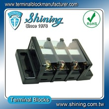 TB-060 Shining Panel Mounted 600V 60A Copper Busbar Wire Connector