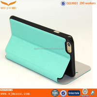 Skyblue Soft Leather Flip Universal Smartphone Leather Case For Iphone 6/ Plus Manufacturer
