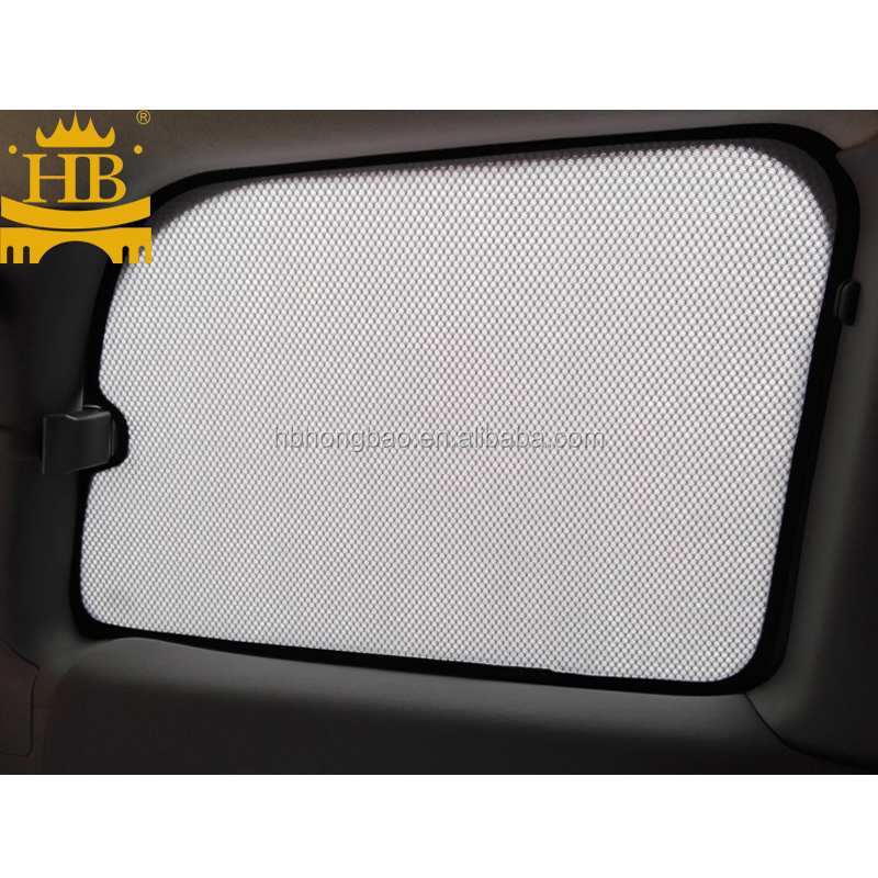 Special car sunshade with magnet