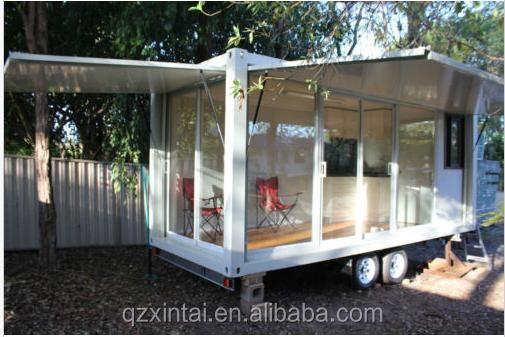 Nouveau mobile moderne maison eco conteneurs en bois for Modernes tiny haus