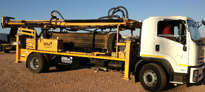 Audie Speedstar Auto Water Well Borehole Drill Rig