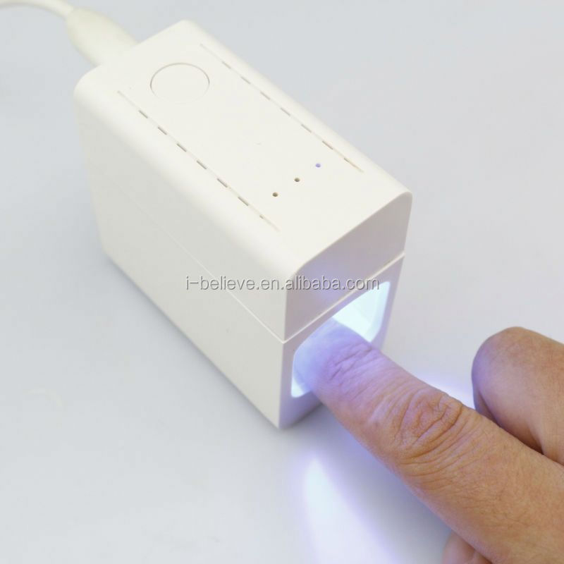 Hot New!!! Mini 3w portable lamp led nails 12w better gel polish led uv nails drier
