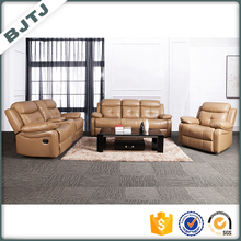 BJTJ Royal electric comfortable genuine leather recliner adjustable sectional sofa 70596