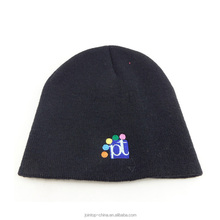 baby cartoon beanie cap with glasses embroidered logo for winter outing