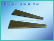 aluminum form curved wedge steel wedge