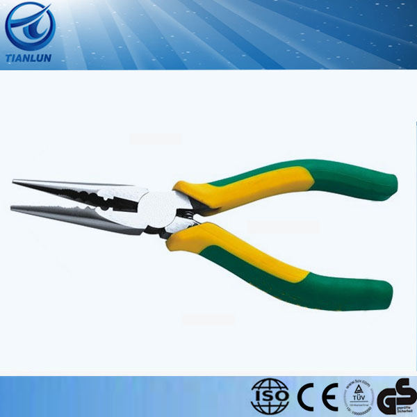 japan stype long nose fishing plier with spring