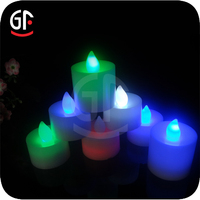 New Year Gifts Advertising Wholesale Religious Candles Led Candle Flame