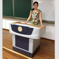 Focus FK530 electronic steel and plastic teaching podium for sale