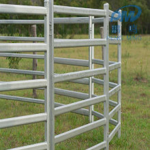 ISO9001certificated high quality Hot dip galvanized 6 rails horse carrol panels horse fence panel used carrol panels