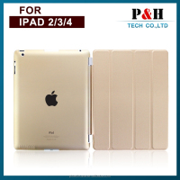 Hot Sale Ultra Slim Cover For iPad 2 Case For iPad 4 Smart Cover For iPad 3 Cases