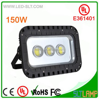 UL cUL DLC CE E361401 150w led flood lighting garden ip65