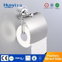 Brass bathroom accessory set toilet paper holder stand HY-9007