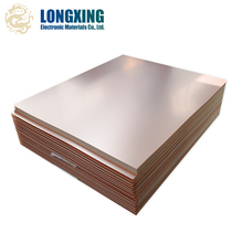 prepreg fiber glass epoxy fabric copper clad laminate sheet