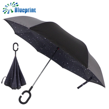 Wholesale advertising reversible photo print umbrella