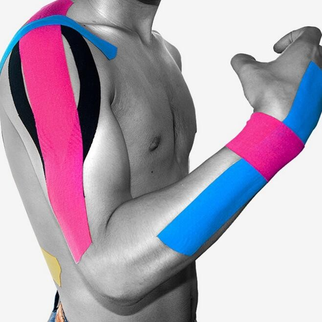 Kinesio Taping Athletic Kinesiology Sport Taping Strapping Good Quality Football Knee Muscle Kinesio taping Strapping