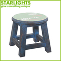 new design round chair with wood legs