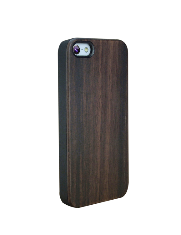 Creative Design For iPhone 5 Case Wood Hard Plastic Wooden Phone Case for iPhone 5