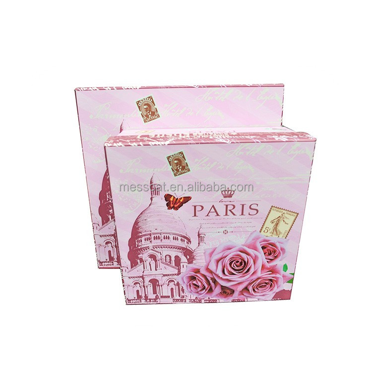 Ads Cosmetics Packaging Box With Lid