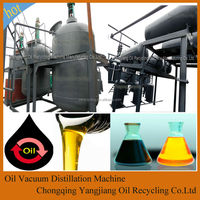 Black Car Oil/Motor Oil Recovery System Produce Base Oil