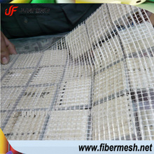 White Fiberglass mesh for mosaic