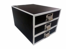 Multiple function drawers cabinet for home and office organization