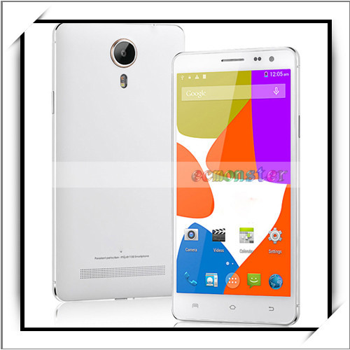 "For Mijue T100 5.5"" 5+15MP Dual Camera 2+16GB Octo-Core Dual SIM New Unlocked Android Cell Phone White EU Standard"