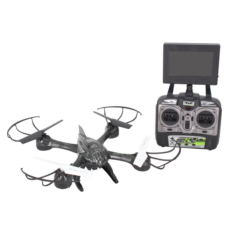 2016 new sky hawkeye 2.4G real time video transmission rc drones with camera