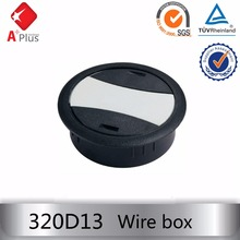 320D13 wire management box plastic hole cover