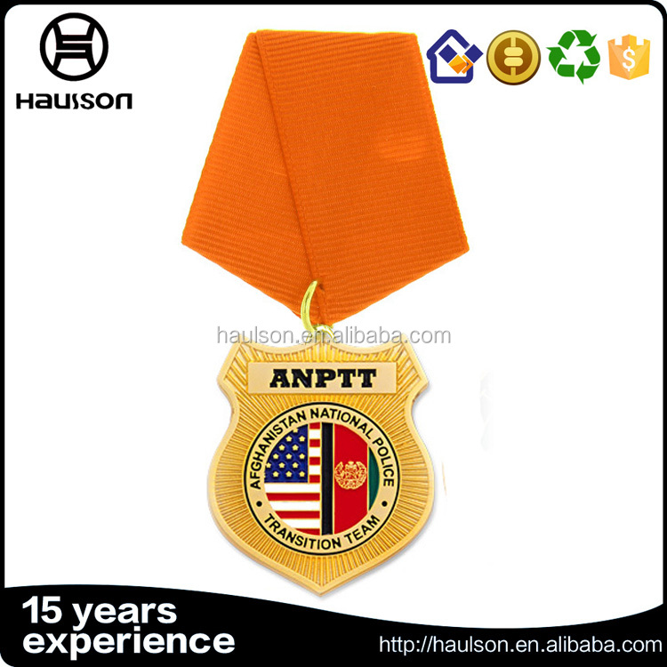pin style gold custom medal waffle value of honor psp award gold iron medal concessions afghanistan medal of honor wholesale