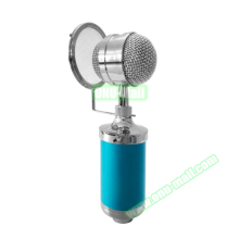 3000 Home KTV Mic Condenser Sound Recording Microphone, with Shock Mount and Pop Filter for PC Sound Mic