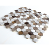 New Colored Hexagon Metal Mosaic Tile