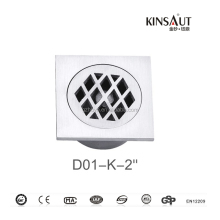 Stainless Steel Bathroom Shower Drain Floor Waste Drainer Cover Strainer