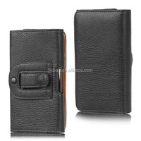 High quality universal Leather case cover for 4 inch cell phone