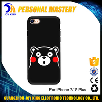 Fashional Cute bear Design TPU soft cover Popular animal silicon case for iphone 6 7 7plus OEM ODM Factory
