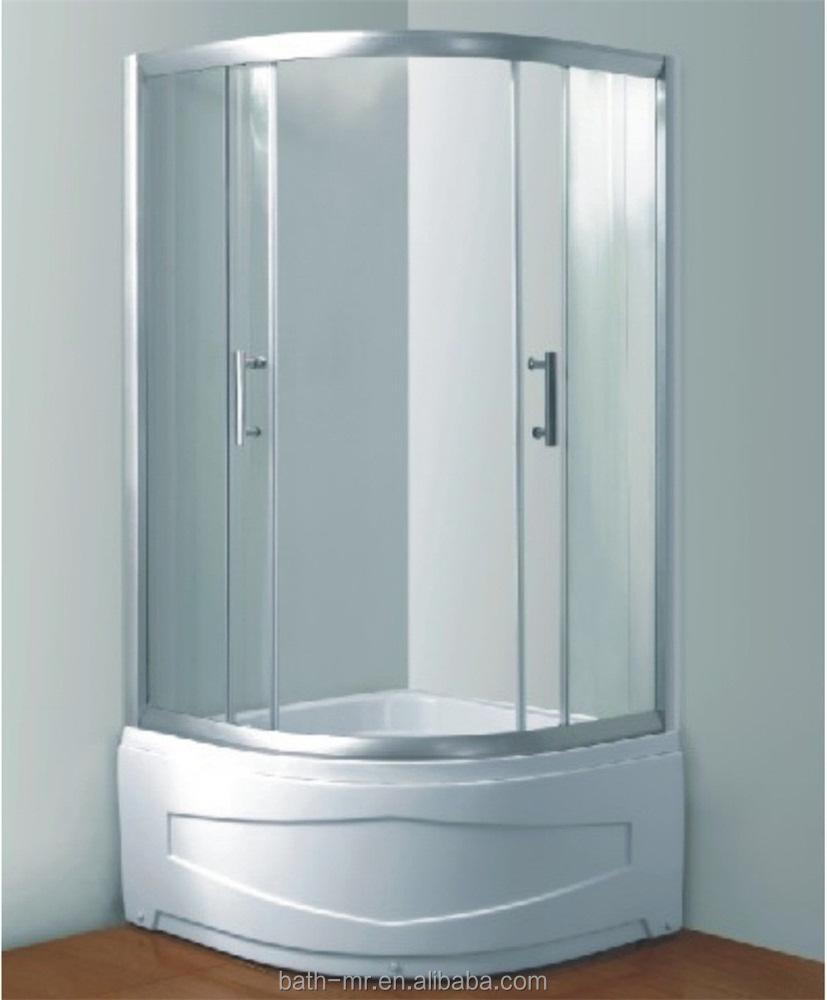 Round Corner Shower - Mobroi.com