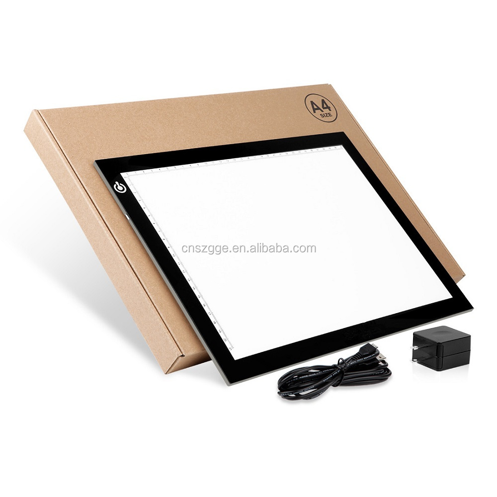 A3 and A4 Ultra Slim LED Drawing Light Box A4 LED Copy Board Tracing Light Pad For School