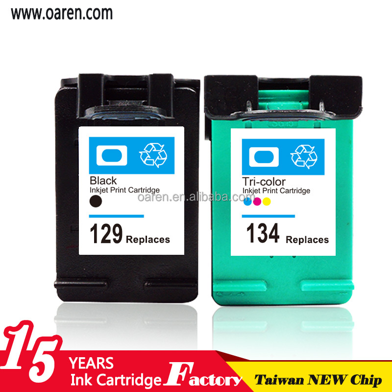 Refill Compatible ink cartridge for Hp 129 XL Inkjet Printer Cartridge for HP C9364HE