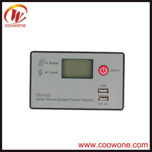 High Quality Adjustable lumiax solar charge controller 20a