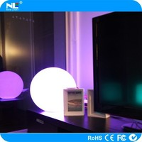 waterproof led light ball color change remote control led lighting outdoor/indoor/swimming pool/road side/